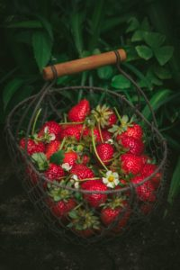 Pensez panier de fruits et de légumes !
